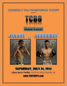 TCB Muay Thai Fight George Jefferis