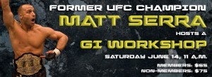 Matt Serra BJJ Workshop