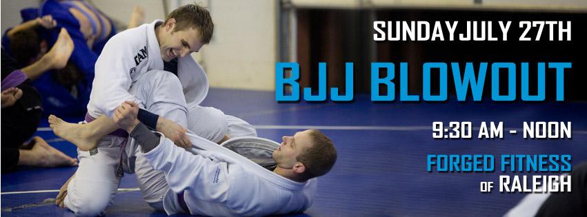 Gracie Jiu Jitsu Blowout Summer 2014 Forged Fitness Raleigh