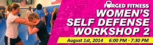Womens self defense at Forged Fitness Jiu Jitsu