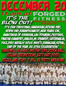 2014 Winter Jiu Jitsu Blowout
